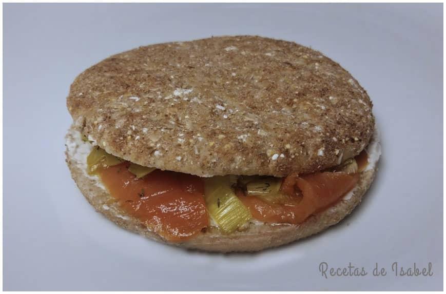 Sándwich noruego