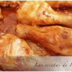 Pollo con salsa barbacoa casera y fácil