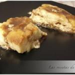 Pudding de croissants y chocolate