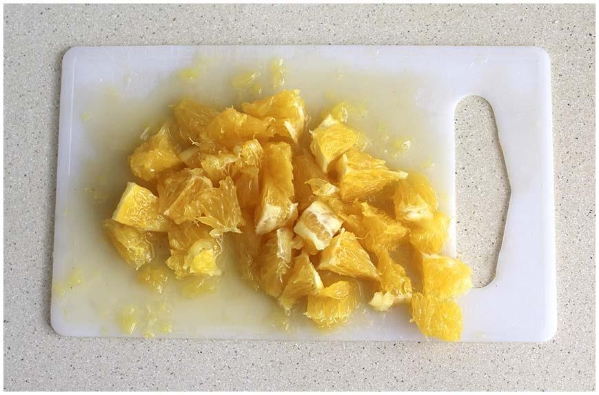 Arroz con atún y naranja, receta de dieta