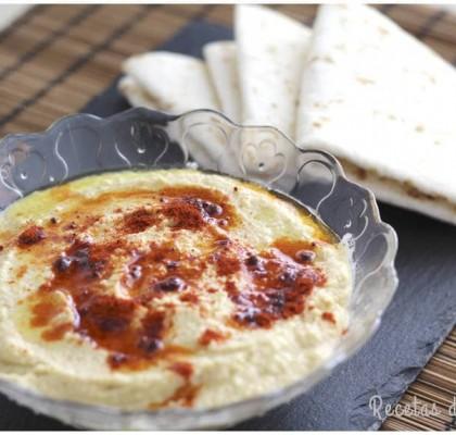 Receta de hummus