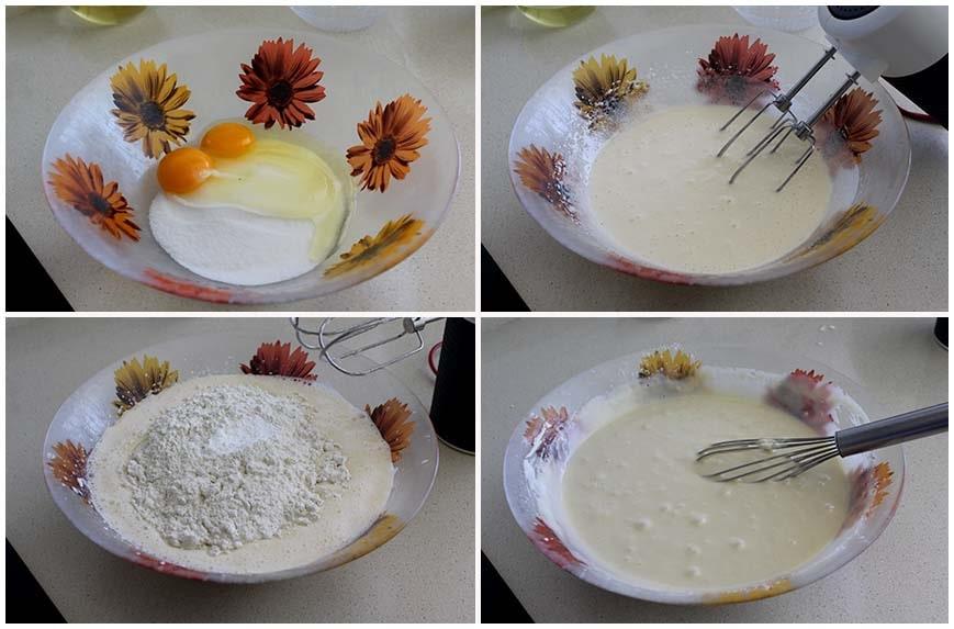 Magdalenas rellenas de chocolate, receta muy fácil