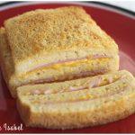 Pastel de queso y jamón york muy fácil