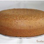 Bizcocho para tartas, el original