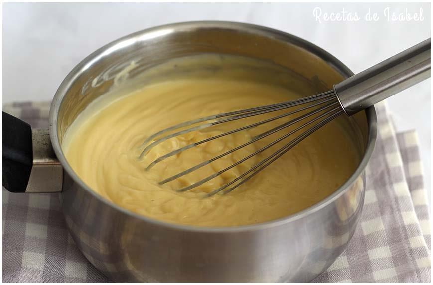 Como Hacer Crema Pastelera Receta Tradicional Recetas De Isabel