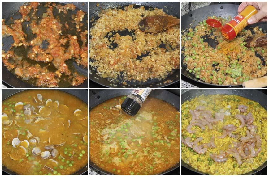 arroz-con-gambas-y-almejas-collage-860-x-573