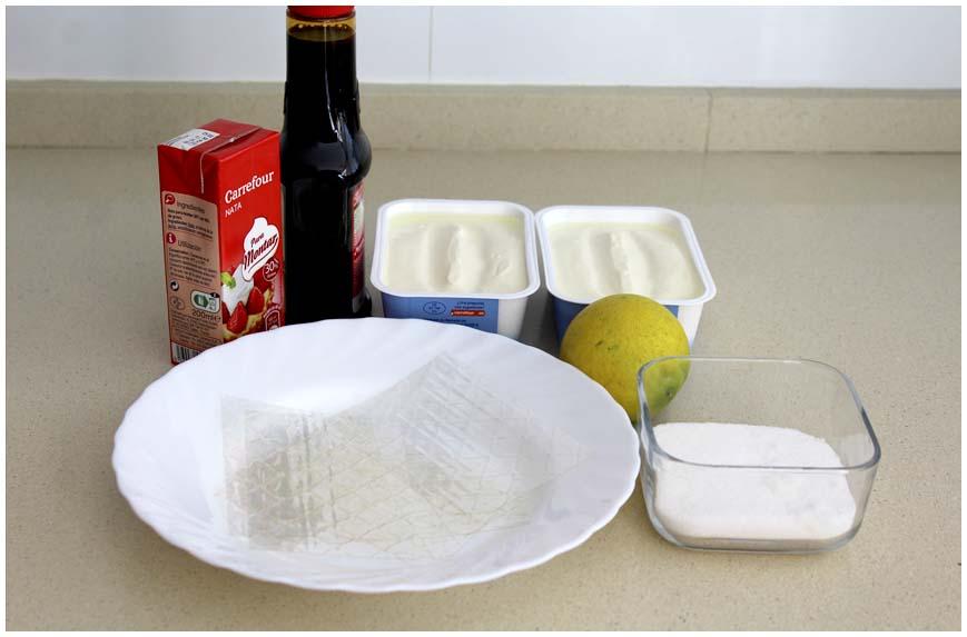 Pastel de limón fresco y fácil sin horno