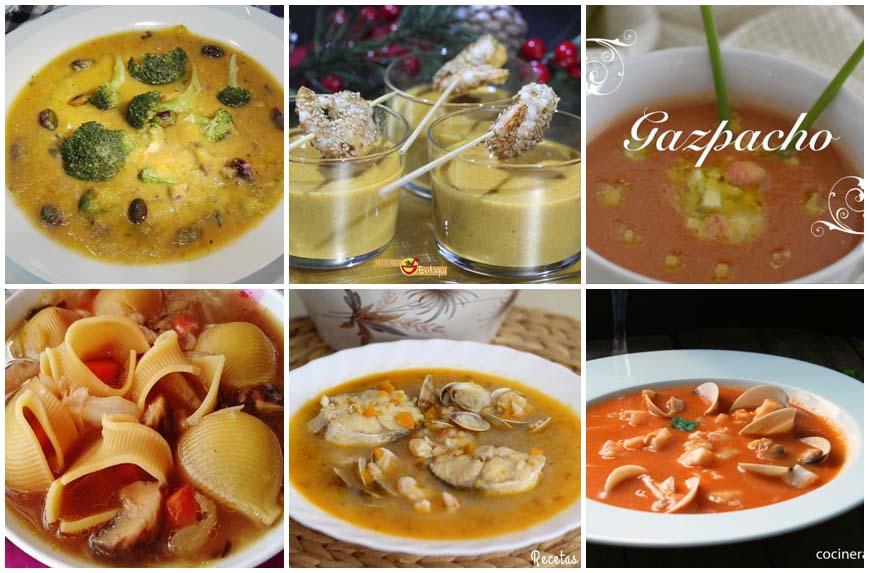 Sopas y cremas especial Navidad
