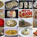 Dieciséis recetas para dieta