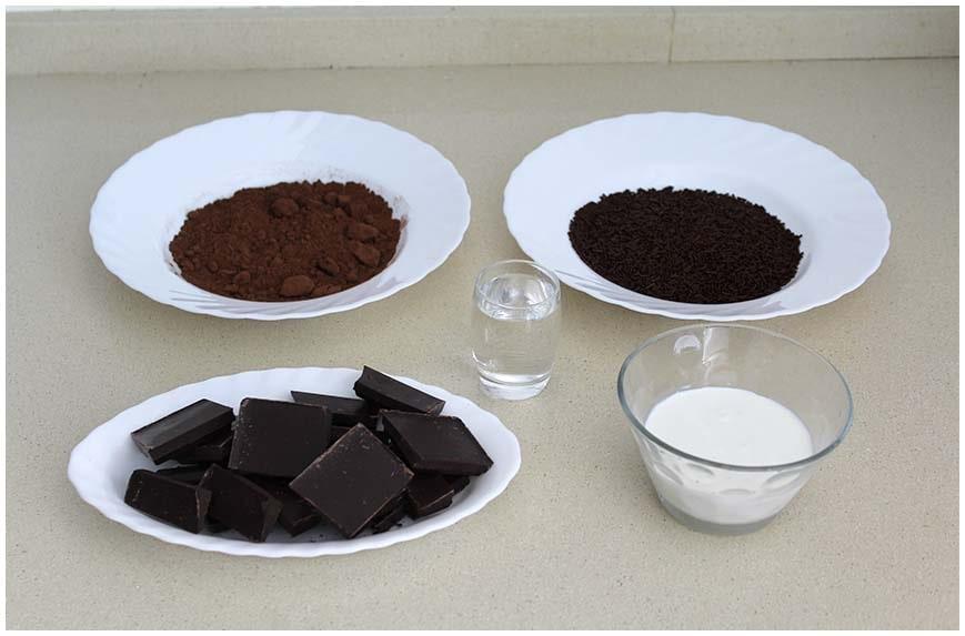 Trufas de chocolate caseras muy fáciles
