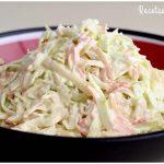 Cómo se hace la ensalada de col o coleslaw