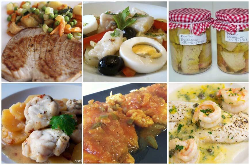 Recetas de pescado sanas y muy fáciles