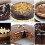 Seis pasteles de chocolate caseros fáciles