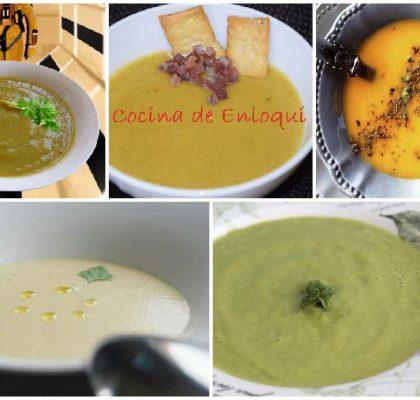 5 cremas de verduras para una alimentación sana