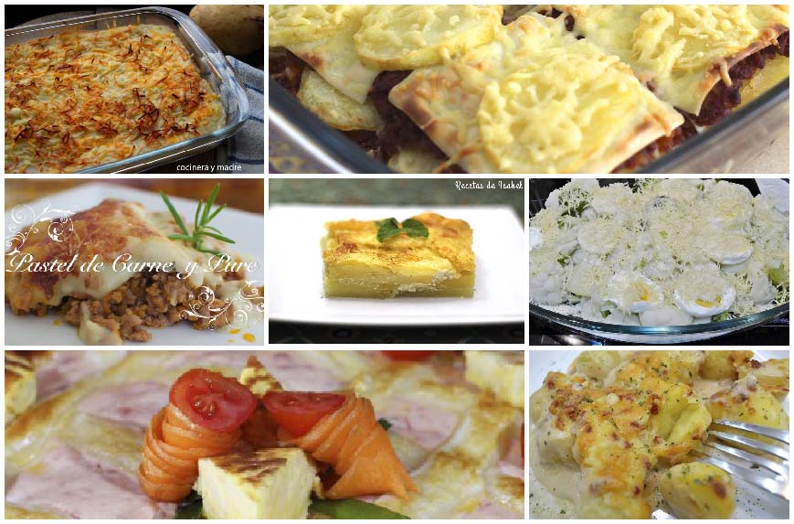 7 Recetas fáciles de patatas gratinadas