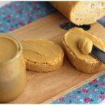 Mantequilla de cacahuete o maníes casera