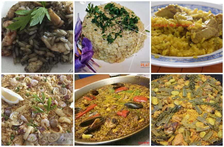 6 recetas de paellas y arroces para elegir