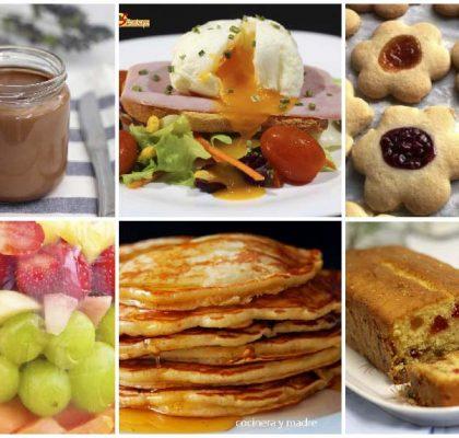 6 recetas para el desayuno