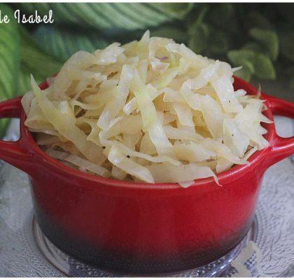 Receta de Chucrut, plato típico alemán