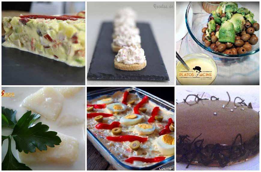 Recetas con mayonesa de todo tipo