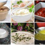 Recetas de salsas para ensaladas, carnes,…