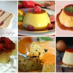 Flanes de diferentes sabores para el postre