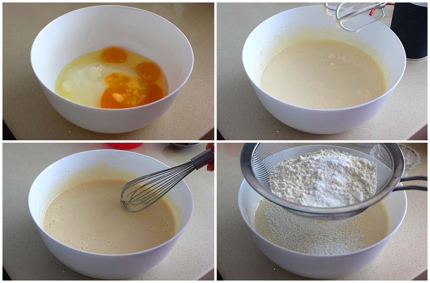 Receta de bizcocho con leche y vainilla