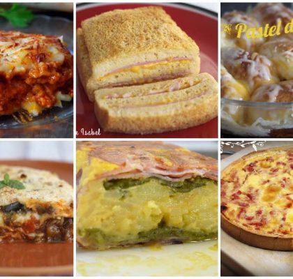 Recetas de pasteles salados calientes