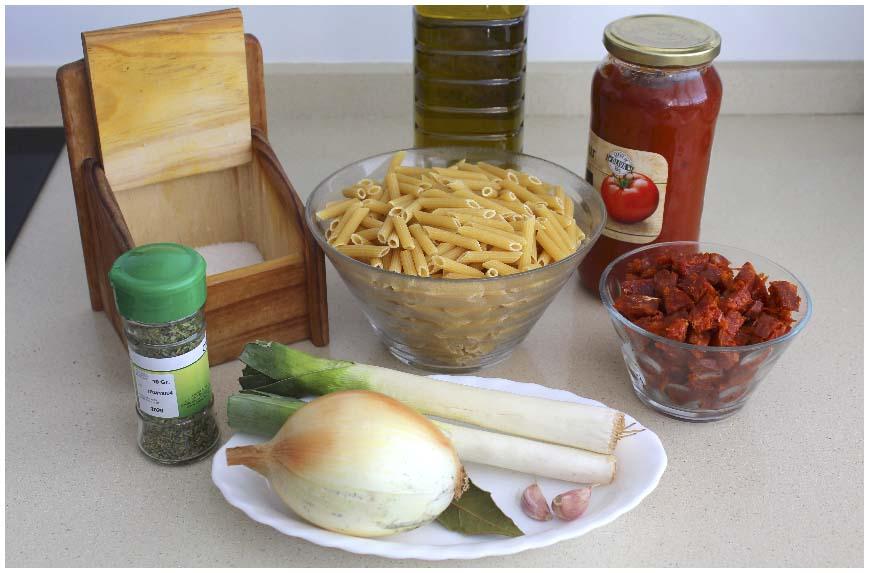 Cómo se hacen los macarrones con chorizo