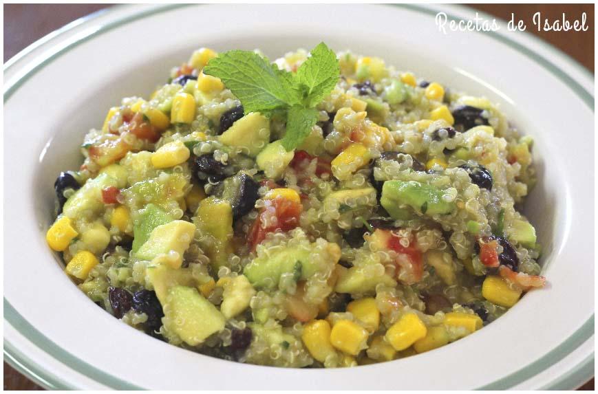 Ensalada De Quinoa Vegana Con Mucho Sabor Recetas De Isabel