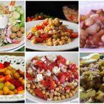 Ensaladas de legumbres, fuente de vitaminas