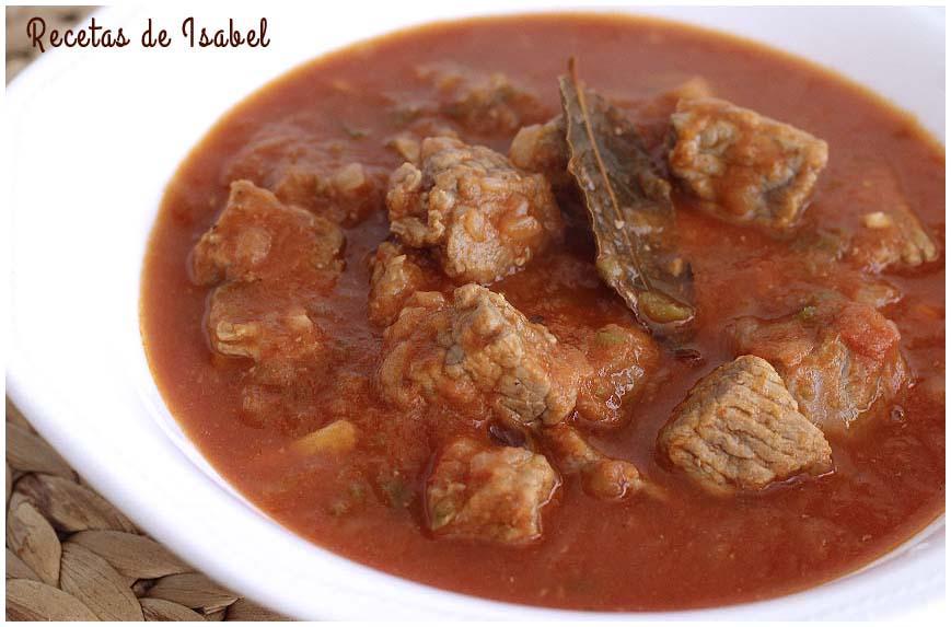 Recetas de diferentes carnes en salsa