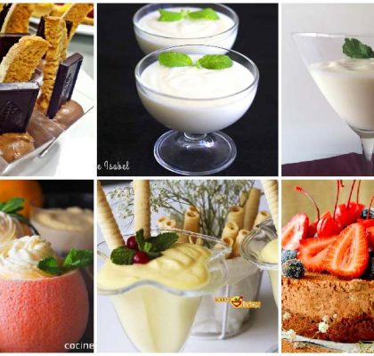 Recetas de mousse de diferentes sabores