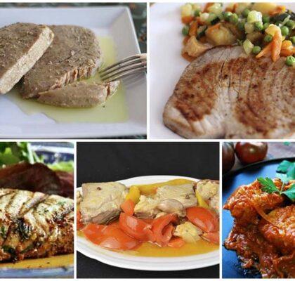 5 recetas de atún fresco fáciles y deliciosas