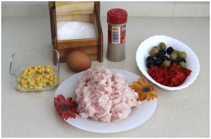 Galantina de pollo fácil en siete minutos