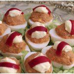 Huevos rellenos de atún, los de toda la vida