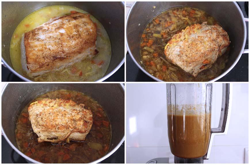 Lomo en salsa al Pedro Ximénez sin horno
