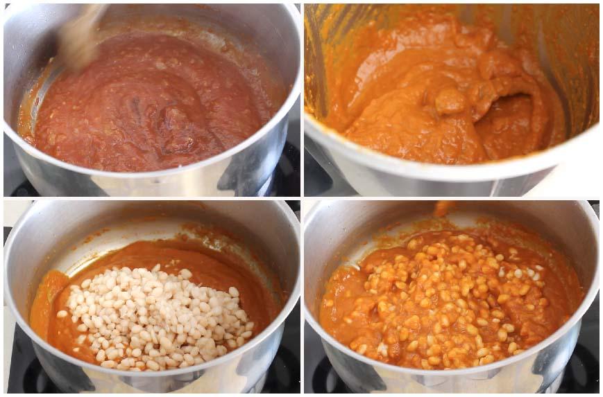 Baked beans o alubias con tomate, desayuno inglés