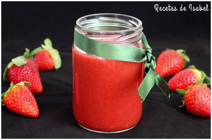 Cómo hacer mermelada de fresas casera