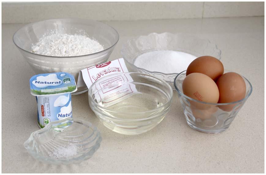 Cómo hacer un bizcocho de yogur casero