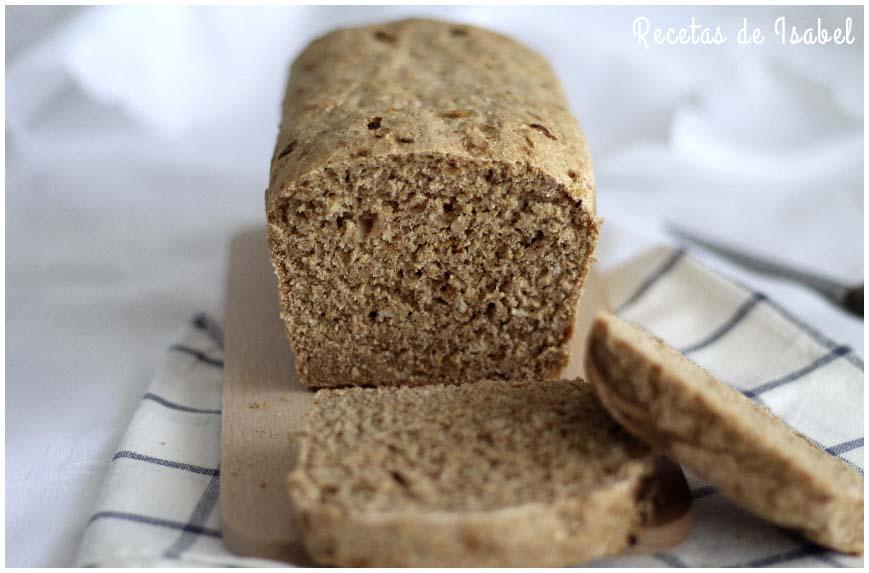 Receta de pan espelta