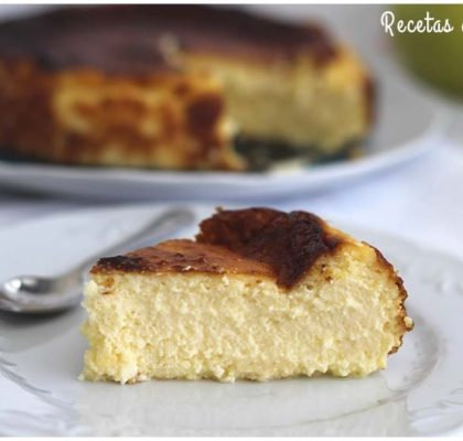 Tarta de queso La Viña. La mejor de España