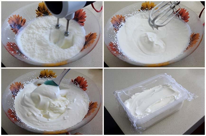 Helado de yogur sin heladera y con solo 3 ingredientes