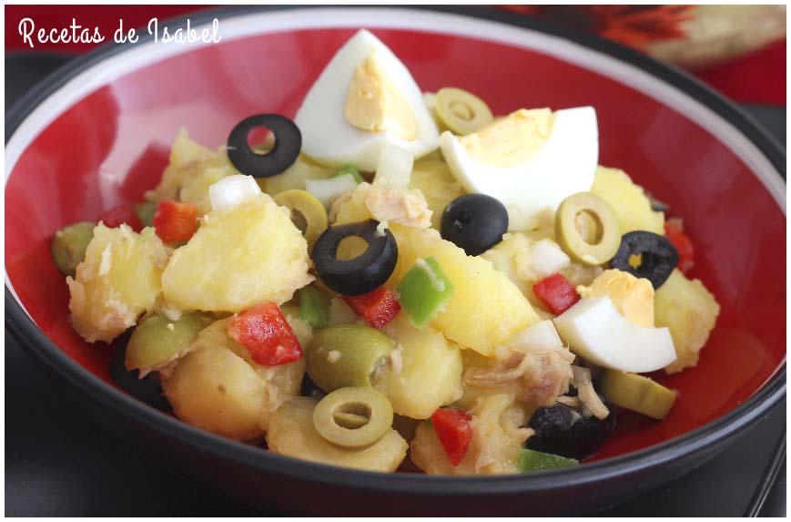 6 ensalada de verano fáciles y variadas