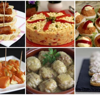6 recetas de tapas, pinchos y aperitivos