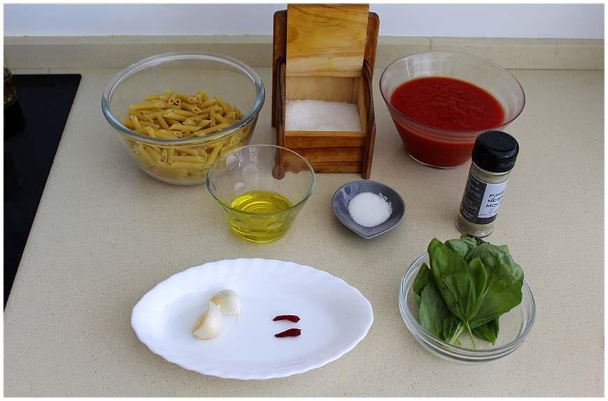 Pasta con salsa arrabiata, fácil y picante